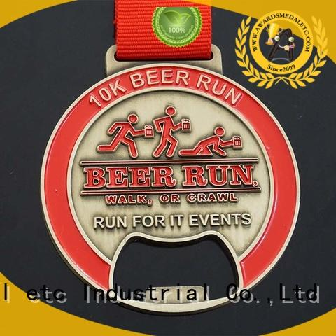 Awards Medal originality custom beer bottle opener customized for events