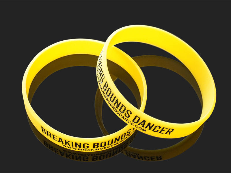 premium quality custom silicone wristbands logo trader for event-2