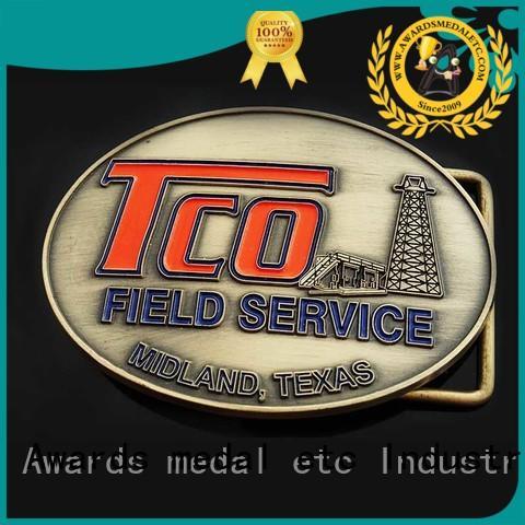 Awards Medal customized custom made belt buckles design for wholesale