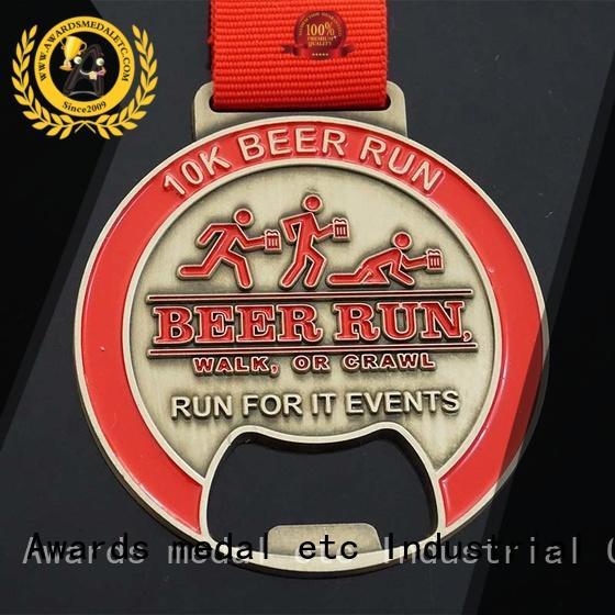 most popular stainless steel bottle opener bulk production for events Awards Medal