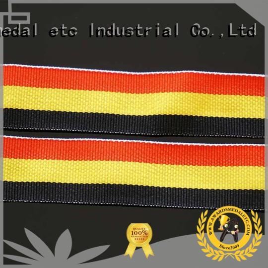 Awards Medal woven printed lanyards convenient packaging for sale