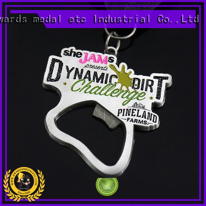Awards Medal most popular beer bottle opener bulk production for gifts
