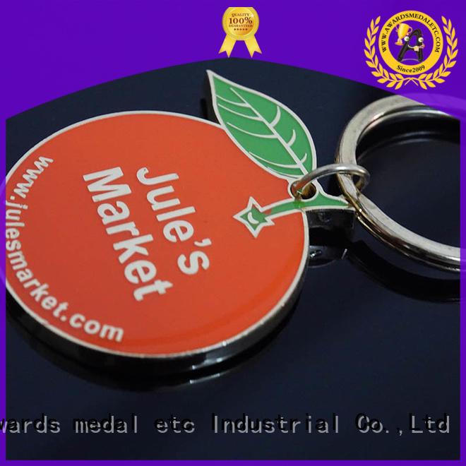 Awards Medal keychian metal keychain international market for wholesale