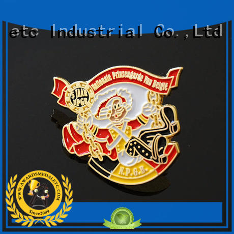 Awards Medal economical pin badges looking for buyer for souvenir