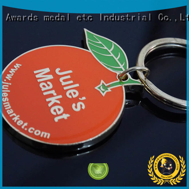 Awards Medal logo custom logo metal keychains win-win cooperation for wholesale